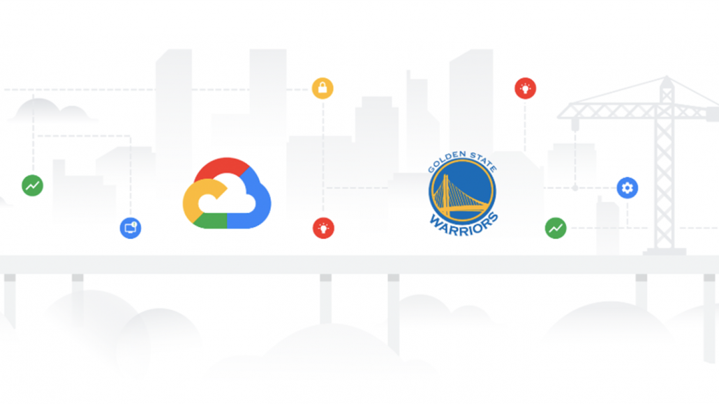 Google Cloud partnership with the Golden State Warriors