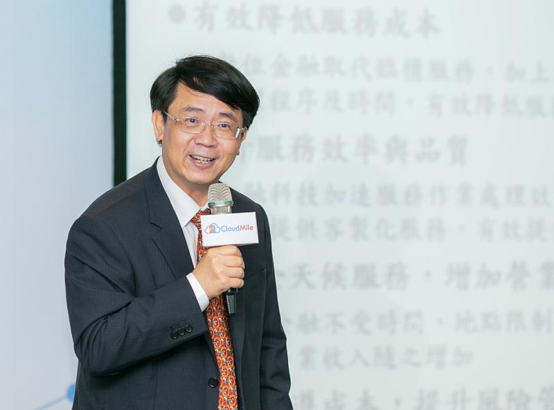 金融監督管理委員會副主委 張傳章