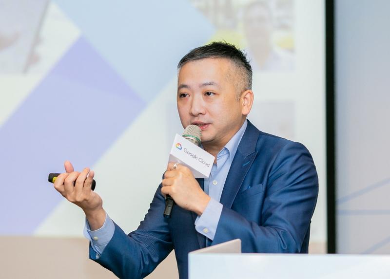 Google雲端企業客戶經理 田哲禹
