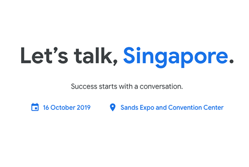 2019 Google Cloud Summit in Singapore