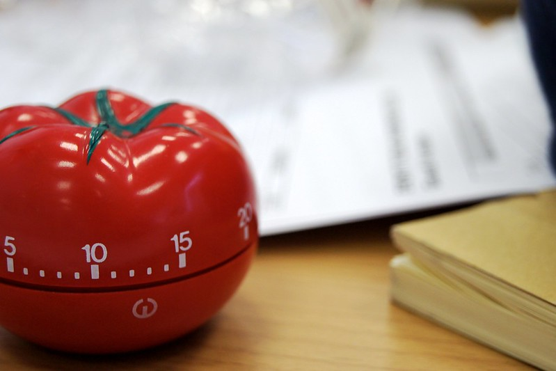 Pomodoro technique by Luca Mascaro